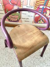 Chaise enfant vintage Mullca 300 Hitier