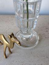 Duo de petits vases italiens en verre