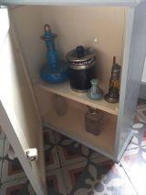 Armoire de toilette en bois années 60.