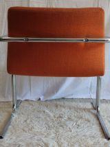Fauteuil orange – fin des années 70