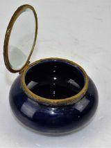 boite ceramique et verre biseauté