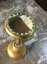 Poignée laiton avec miroir biseauté