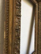Cadre doré XIXème