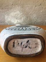 Original pichet en céramique vintage