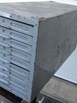 Ancien casier métallique FORINDEX vintage des années 50