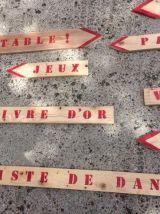 Pancartes directionnelles