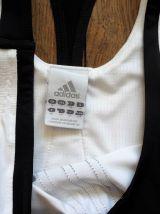 Débardeur Blanc Et Noir Sans Manches- Climacool- Adidas