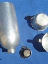 Bouteille Aluminium France Tournus unis+tasses