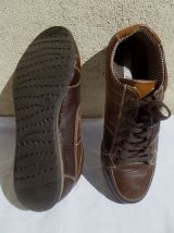 Chaussures Homme Casual Freecoder MARRON T43