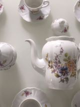 Service 10 pièces en porcelaine à motifs fleuris Barock Self