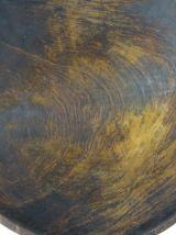 Saladier en bois sculpté africain