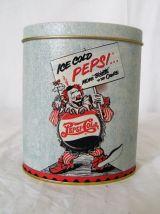 Boîte PEPSI COLA clown moderne style vintage