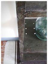 Etagère industrielle en métal