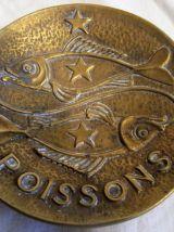 Vide poche bronze art déco signé max Leverrier
