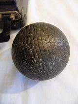 Valisette quadruplette boule ancienne lyonnaise