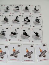 Jeux de carte JIM BEAM série MUSIC pjharvey