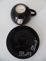 TAsse + soucoupe Betty Boop tropico diffusion king