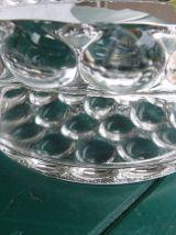 Coupe à fruit en verre