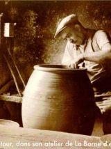 Pichet émaillé – Joseph TALBOT à La Borne (Cher) – années 30