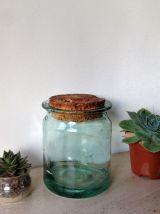 Bocal ancien vert sauge - 1  litre