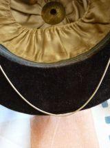 Ancien casque d'équitation