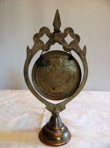 Petit gong en cuivre tunisien made le phare motif
