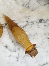 Grande carafe italienne Empoli jaune