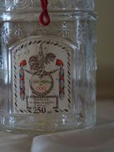 vintage ancien flacon vide eau de cologne du Coq