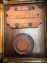 Set de 2 vide-poches grès émaillé