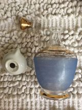 Lot carafe granité bleue + mini presse agrumes Limoges