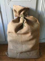 Ancien sac à grains uni
