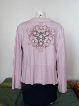 Veste Rose Pastel Imitation Daim- Taille 0- One O One