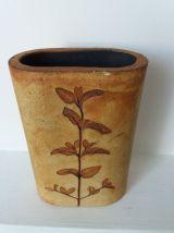 Vase herbier VALLAURIS
