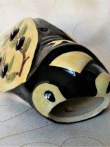 Cigale de décoration / Cigale céramique / Vase mural.