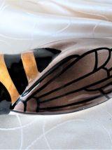 Cigale en céramique / Cigale porte-bonheur / Vase cigale.