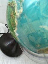 Globe terrestre lumineux vintage marque Tecnodidattica.um