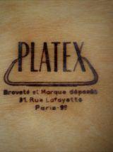 Paire de plateaux - 1960's
