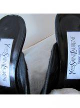 Paire de mules Vintage Yves Saint Laurent Haute Couture