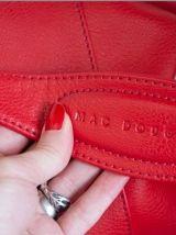 Sac cuir rouge Mac Douglas