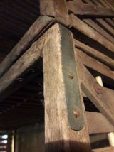 Lot de 4 anciennes caisses de transport en bois 1930
