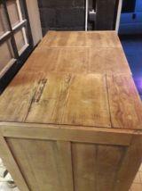 Ancien meuble de notaire en chêne 12 tiroirs 1930
