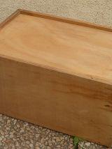 boite , tiroir  en bois , ancien,vintage