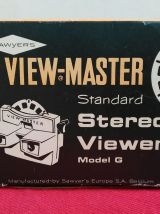 View Master modèle G avec sa boîte d'origine