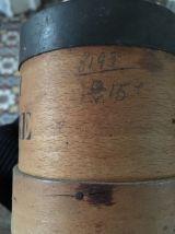 Deux mesures anciennes en bois.
