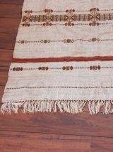 Tapis ethnique en laine