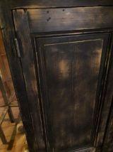 Buffet/vitrine 4 portes 1900