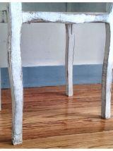 Table de chevet patinée