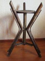 Sellette Napoléon III , en bambou, fin 19è, japonisant
