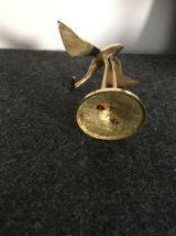 Figurine héron en laiton