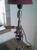 lampe chignole vintage industrielle
